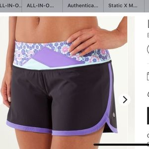 Lululemon groovy run shorts